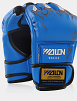 Boxing Training Gloves Boxing Gloves Pro Boxing Gloves for Boxing Fingerless Gloves Shockproof Wearproof High Elasticity Protective PU