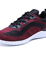 Men's Sneakers Spring Summer Mary Jane Light Soles Tulle Outdoor Athletic Casual Flat Heel Lace-up Hiking