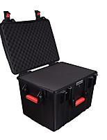 56 L Waterproof Dust Proof Wearable Hardshell Multifunctional Shockproof Black