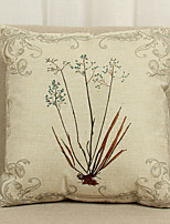 1 Pcs Flowers  Pattern 45cm*45cm Soft Decorative Pillow Cover