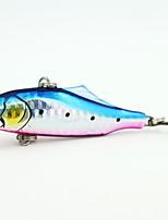 1 pcs Señuelos duros Colores Aleatorios 21 g Onza mm pulgada,Metal Pesca en General