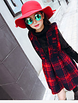 Girl's Casual/Daily Striped Dress Winter Long Sleeve
