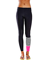 Running Pants/Trousers/Overtrousers Shorts Leggings Breathable Cotton Slim Indoor Outdoor clothing Leisure Sports Athleisure Black Classic