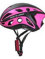 Sport Damen Fahhrad Helm 22 Öffnungen Radsport Radsport PC EPS Dunkelrosa