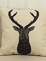 1 Pcs Black and white animal pattern  Soft  Decorative Pillow Cover