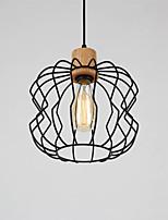 Lampe suspendue ,  Contemporain Traditionnel/Classique Rustique Retro Peintures Fonctionnalité for LED MétalSalle de séjour Chambre à
