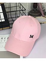 Unisex Cotton Baseball Cap Sun Hat,Casual Solid All Seasons