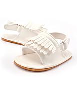 Kids' Sandals Summer Fall First Walkers Leatherette Wedding Outdoor Party & Evening Dress Casual Flat Heel Gore Tassel