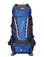 80 L Backpack Hiking & Backpacking Pack Camping & Hiking Climbing Multifunctional Others