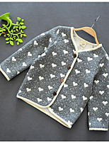 Girls' Casual/Daily Print Suit & Blazer,Cotton Summer Long Sleeve