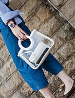 Для женщин ПВХ На каждый день Для отдыха на природе Сумка-шоппер