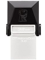 Kingston dtduo3 32gb usb 3.0 flash drive otg micro usb mini ultra-compacto
