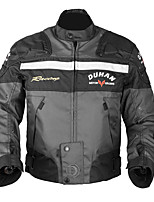 DUHAN D020 Motorcycle Jacket Motorbike Racing Jacket Protector Water Risistant And Windproof With 5 Pcs EVA Protective Gears
