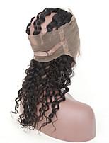 Tissages de cheveux humains Cheveux Brésiliens Ondulation profonde 6 Mois 4 Pièces tissages de cheveux