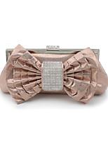 L.WEST Women's fashion diamond Dinner Bag