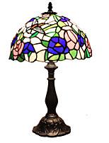 40 Tiffany Bureaulamp , Kenmerk voor Oogbescherming , met Beschilderd Gebruiken Aan/uit knop Schakelaar