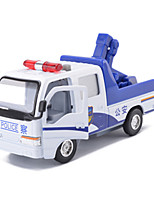 Truck Pull Back Vehicles Car Toys Metal White Model & Building Toy