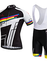 AOZHIDIAN Summer Cycling Jersey Short Sleeves BIB Shorts Ropa Ciclismo Cycling Clothing Suits #AZD148