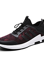Men's Sneakers Spring Summer Comfort PU Outdoor Athletic Casual Flat Heel Gore Running