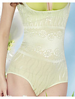 Women's Overbust Corset Nightwear,Push-Up Lace Solid-Thin Nylon Women's