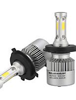 H4 36w / pcs 3600lm led phare kit haut bas faisceau remplacer halogène xénon