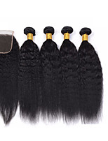 One Pack Solution Brazilian Texture 12 Months 5 Pieces hair weaves