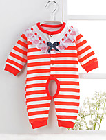 Baby Striped One-Pieces,Cotton Summer
