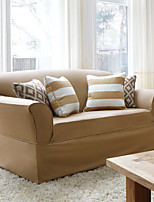 Stretch Pique Shorty Studio Sized Loveseat Slipcover Maude