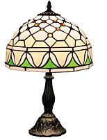 40 Tiffany Lampe de Bureau , Fonctionnalité pour Protection des Yeux , avec Peinture Utilisation Interrupteur ON/OFF Interrupteur