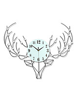 Creative Fashion Personality Metal Mute Wall Clocks