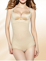Women's Overbust Corset Nightwear,Push-Up Solid-Thin Spandex Women's