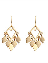 Drop Earrings Alloy Euramerican Fashion Geometric Gold Jewelry Wedding Party Halloween Daily Casual Sports 1 pair
