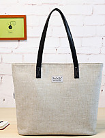 Mujer Lienzo Casual Tote