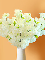 1 Branch Dried Flower Sakura Tabletop Flower Artificial Flowers