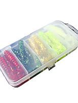 1 штук Мягкие приманки Случайный цвет г/Унция мм дюймовый,Пластик Обычная рыбалка