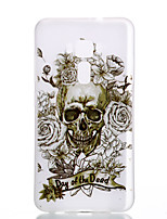 For Asus Zenfone 3 ZE520KL ZE552KL Skeleton Pattern Relief Luminous TPU Material Phone Case