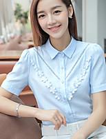 signe 2017 été nouveau cardigan fan coréen chemise en coton casual chemise brodée