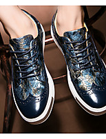 Men's Sneakers Summer Comfort Cotton Casual Flat Heel Dark Blue Walking