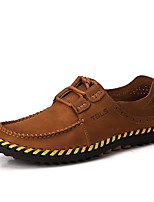 Oxfords Spring Summer Fall Winter Comfort Cowhide Outdoor Office & Career Casual Flat Heel