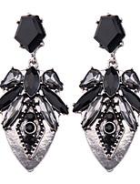 Серьги-слезки Бижутерия Мода Богемия Стиль Euramerican Драгоценный камень Бижутерия Черный Бижутерия ДляСвадьба Для вечеринок Особые