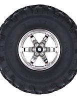 Général RC Tire Pneu RC Cars / Buggy / Camions Noir Caoutchouc Plastique