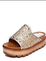 Women's Slippers & Flip-Flops Spring Summer Comfort PU Casual Flat Heel Rivet