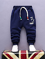 Boys' Casual/Daily Solid Pants Summer Fall