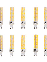BRELONG Dimmable 5W G9/G4/G8/BA15D LED Corn Lights 136 SMD 5730 400 lm Warm White Cool White  Decorative AC 220-240 AC 110-130 V 10 pcs