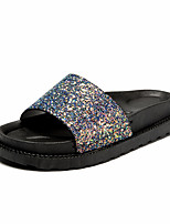 Sandals Summer Mary Jane Leatherette Casual Low Heel Walking