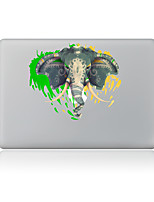 1 pièce Anti-Rayures Eléphant En Plastique Transparent Décalcomanie Motif PourMacBook Pro 15'' with Retina MacBook Pro 15 '' MacBook Pro