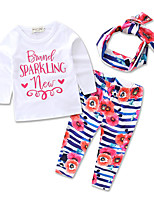kids princess sets clothes Hair Band Shirts Children's Clothing Set Girls Baby Clothes Suits Cotton siut
