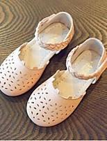 Fille-Décontracté--Talon Plat-Confort-Sandales-Cuir