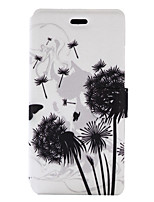 For Huawei P9 Lite P8 Lite (2017) Case Cover Dandelion Pattern Painted PU Material Card Holder Mobile Phone Holster Phone Case Y5II Honor 5X P8 Lite