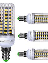 6W E14 Lâmpadas Espiga T 72 SMD 5733 550 lm Branco Quente Branco Frio Branco Natural AC 220-240 V 4 pçs